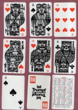 Vintage Collectible  playing cards. Bild Zeitung1964